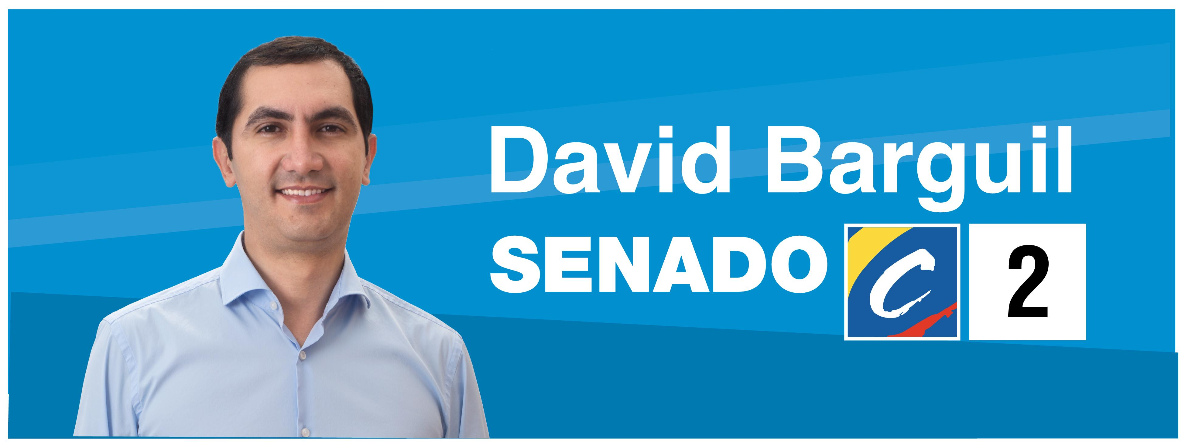 David Barguil inscribe su candidatura al Senado